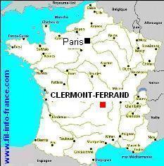 clermont-auvergne-carte