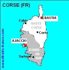 Carte Corse Ajaccio.Bon Plan Corse Ajaccio