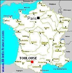 La Carte De France Toulouse | My blog